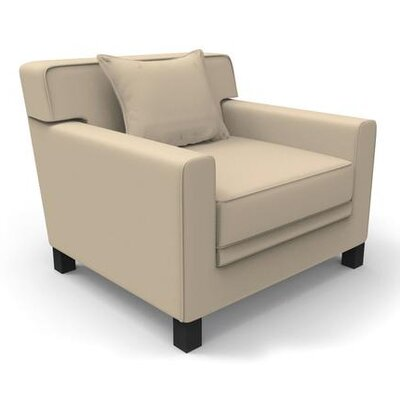 Hennings Armchair Color: Taupe