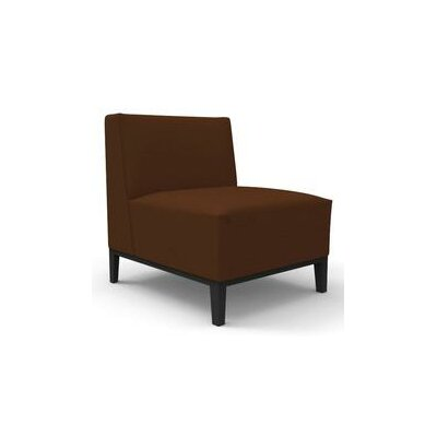 Henriksen Slipper Chair Upholstery: Brown