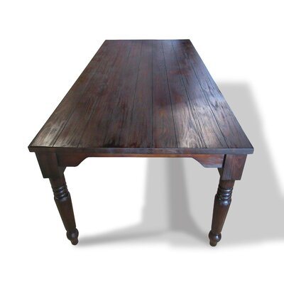 Elita Dining Table Size: 30 H x 40 W x 84 D