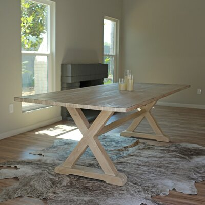 Kimmie Dining Table Size: 30 H x 40 W x 72 D