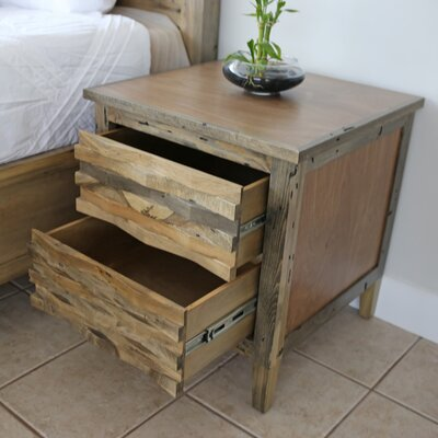Holborn 2 Drawer Nightstand