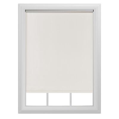 Blackout Tear Roller Shade Color: Cream