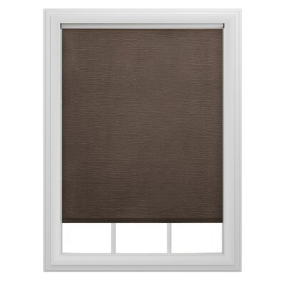 Decorative Tear Roller Shade Color: Chocolate