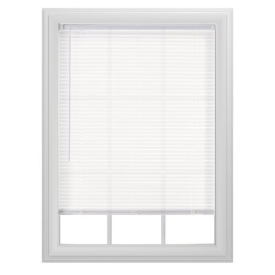 Light Filtering Cordless Vinyl Horizontal Blind Size: 23 W x  64 L