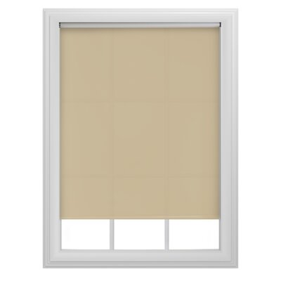 Decorative Tear Roller Shade Color: Tan