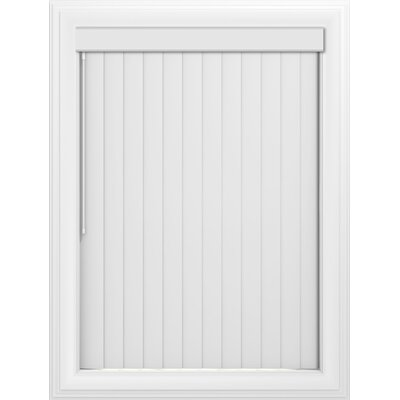 Crown Blackout Vertical Blind Color: White