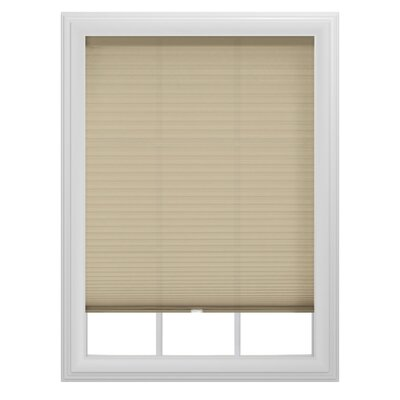 Semi-Sheer Venetian Blind Color: Fawn, Size: 27 W x 64 L