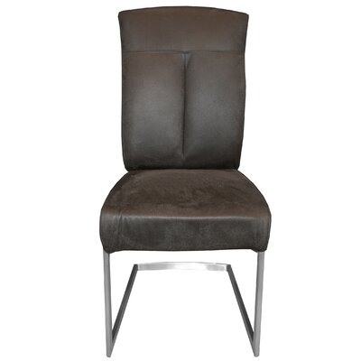 Leonis Side Chair Upholstery: Gray