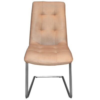 Navi Side Chair Upholstery: Beige