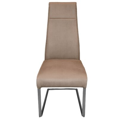 Kassandra Side Chair Upholstery: Beige