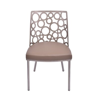 Levine Side Chair Upholstery: Taupe