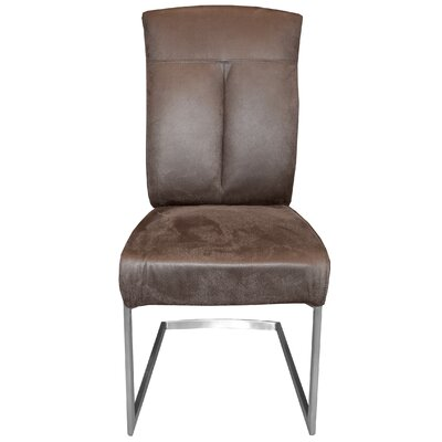 Leonis Side Chair Upholstery: Mocha