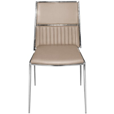 Stanley Side Chair Upholstery: Beige