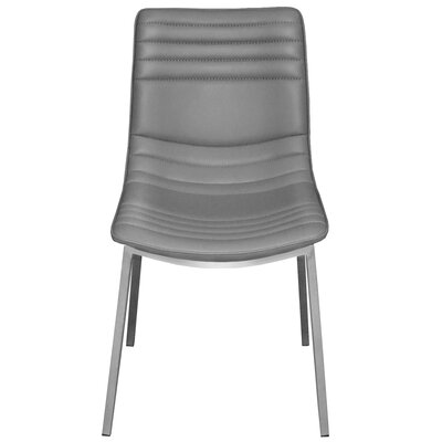 Side Chair Upholstery: Gray