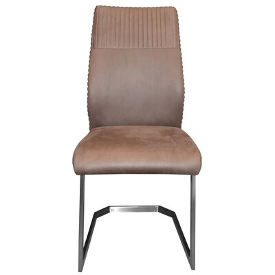 Sofia Side Chair Upholstery Color: Mocha