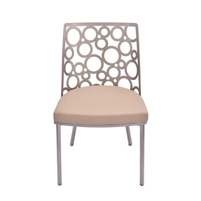 Levine Side Chair Upholstery: Camel