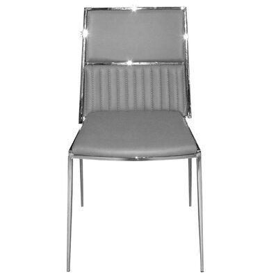 Stanley Side Chair Upholstery: Gray