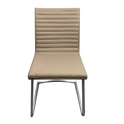 Side Chair Upholstery: Beige