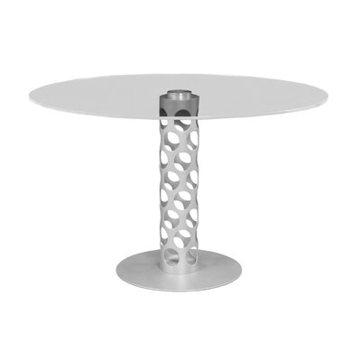 Levine Dining Table Base Finish: Brushed Stainless Steel