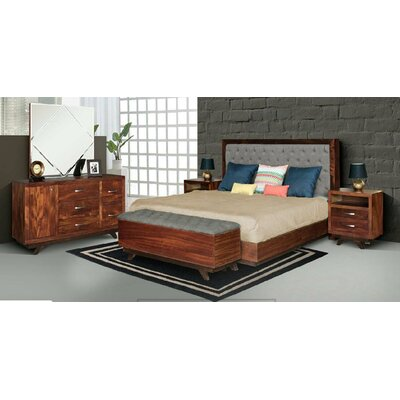 Aurora 5 Piece Bedroom Set Size: King