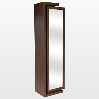 Her Wall Mounted Jewelry Armoire with Mirror