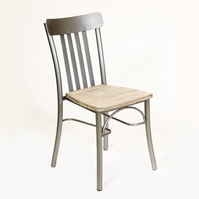 Rusol Solid Wood Dining Chair Finish: Vintage White