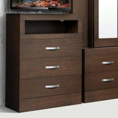 Munich 3 Drawer Dresser