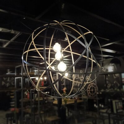 Atomic 3-Light Pendant