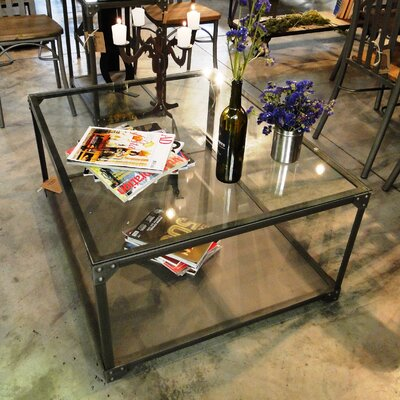 Industrial Square Center Coffee Table