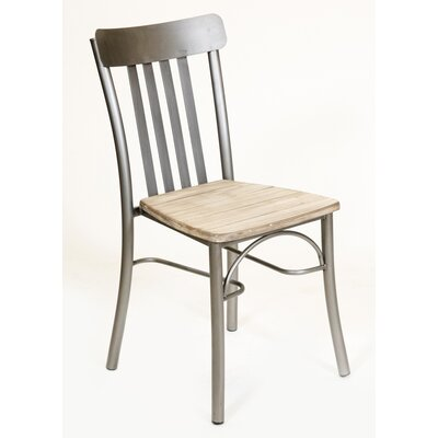 Rusol Solid Wood Dining Chair Finish: Gray