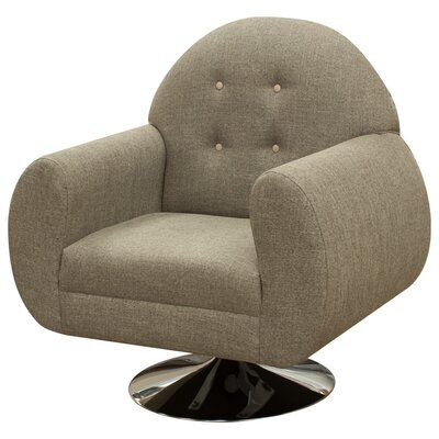 Macao Armchair Upholstery: Brown