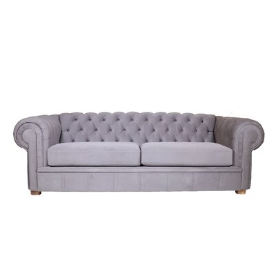 Alexa II Sofa Color: Simplicity Gray