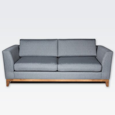 Roberta II Sofa Color: Derby  Gray