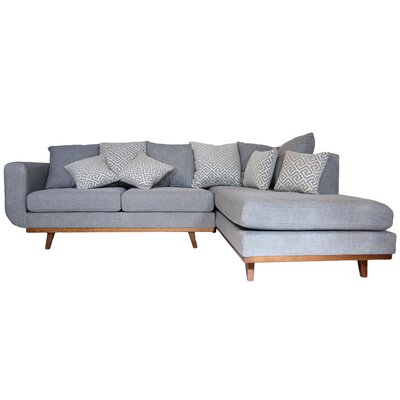 Atlanta Sectional Upholstery: Derby Marble Gray
