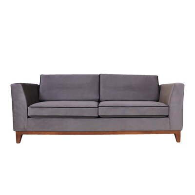Roberta III Sofa Color: Dark Gray