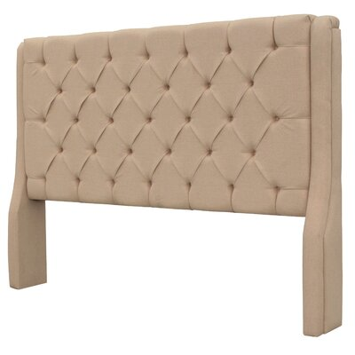 Solar Queen Upholstered Panel Headboard Upholstery: Brown