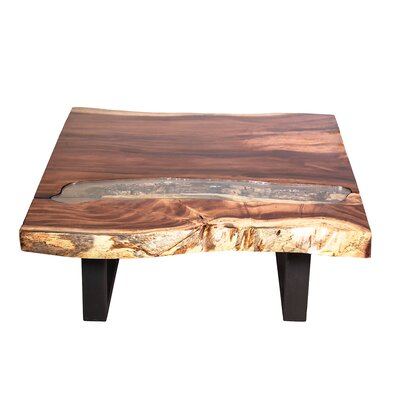 Jean Wood Top Coffee Table