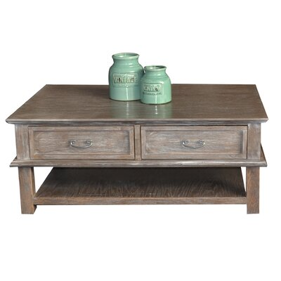 Pinzon Coffee Table Color: Rustic Gray