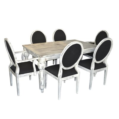 Eros Dining Table Finish: Rustic White