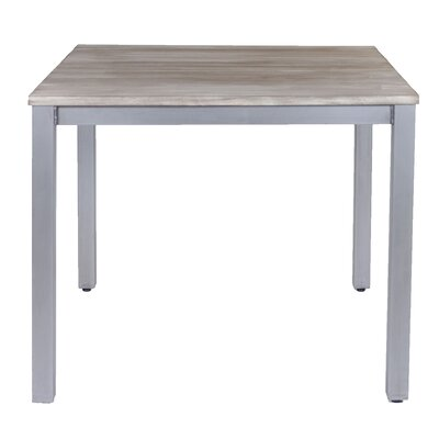 Square Dining Table Top Finish: Natural