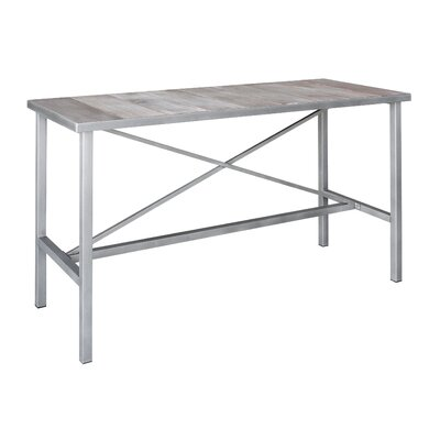 Vintage Pub Table Finish: Vintage White