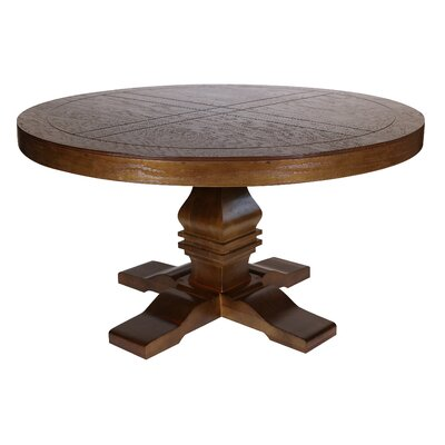 Pinzon Round Dining Table Finish: Tobacco