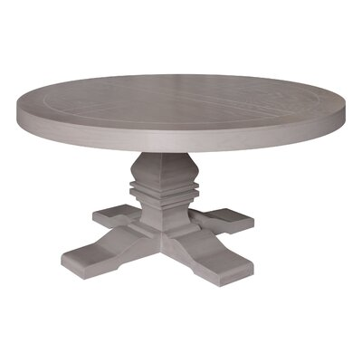 Pinzon Round Dining Table Finish: Taupe