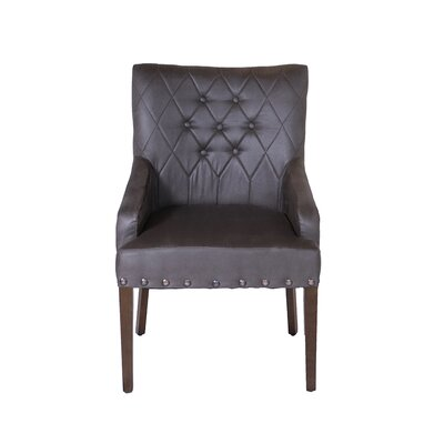 Portofino Arm Chair (Set of 2) Finish: Bravo Graphite