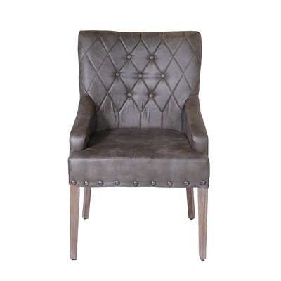 Portofino Arm Chair (Set of 2) Finish: Bravo Raven