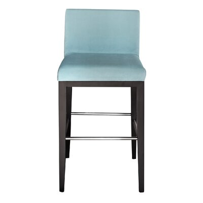 Bureen 31 Bar Stool Upholstery: Cube Mint