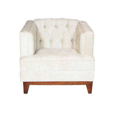 Boughner Armchair Upholstery: Ivory