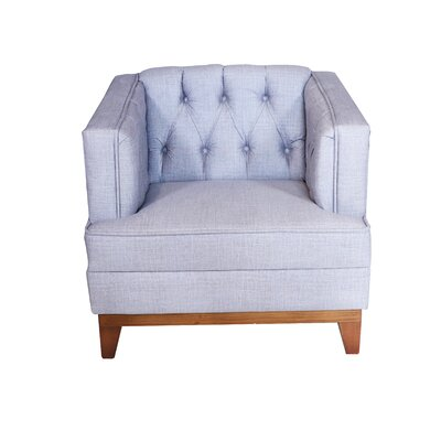 Boughner Armchair Upholstery: Gray