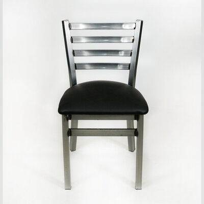 Hinnenkamp Ladder Back Dining Chair Color: Silver