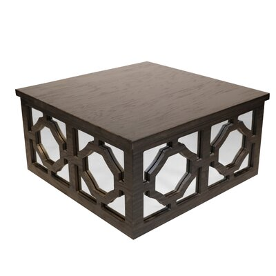 Liyuan Center Coffee Table Color: Black
